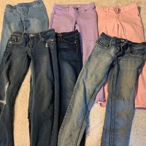 Girls jeans size 10-12